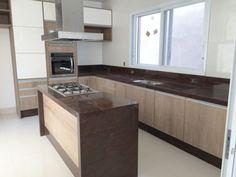 Kitchen Room Design, Kitchen Units, Cool Kitchens, My Dream Home, New Homes, Sweet Home, Room Decor, House Design, Shelves
