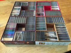 LotR LCG Storage Solution - Modular - Using the original box(es) | The Lord of the Rings: The Card Game | BoardGameGeek