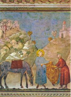St. Francis surrendering his cloak to a poor man - RKD: Netherlands Institute for Art History