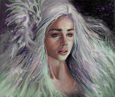 Mother of Dragons, Erin Gibson on ArtStation at https://www.artstation.com/artwork/2VYQy