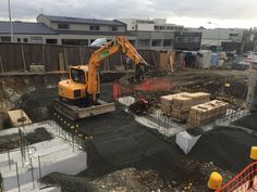 CLL completing the piling works for an apartment complex in Ponsonby, Auckland