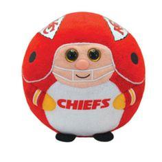 TY NFL Beanie Baby Ballz - KANSAS CITY CHIEFS (Regular Size - 5 inch) 0d04a86f7