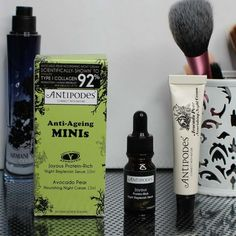Review: #Antipodes #Anti-ageing #Minis http://www.makeupper.co.nz/2014/06/review-antipodes-anti-ageing-minis.html