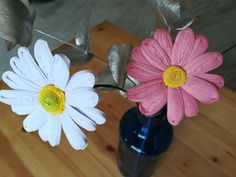 Quilled daisies. Done by me.