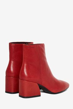 Vagabond Olivia Leather Boot - Clothes | Boots + Booties