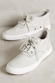 Keds Triumph High-Top Sneakers in Gray.
