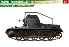 Pz.BfWg I Ausf.B mit Rahmenantenne