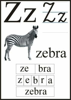 Polish Alphabet, Reading Skills, Zebras, Teaching, Education, Puzzle, Speech Language Therapy, Languages, Writing