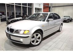 Last Year Production For The (E46) Sedan! 2005 #BMW 325Xi With Premium Sport Package, 2.5L I-6 Cyl, Finished In Titanium Silver Over Black Leather Interior!