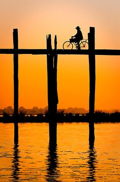 the ride by Carlos Canales, via Silouette Photography, Bike Photography, Sunset Photography, Love Wallpaper Backgrounds, Sunset Wallpaper, Landscape Photos, Landscape Paintings, Bike Poster, Beautiful Love Pictures