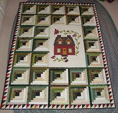 cottage quilt...love