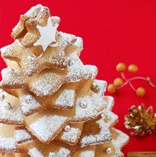 Το πιο γλυκό και εντυπωσιακό φαγώσιμο δέντρο των Χριστουγέννων που θα κλέψει σίγουρα την παράσταση Christmas Desserts, Feta, Food To Make, Food And Drink, Xmas, Cheese, Cookies, Recipes, Christmas Deserts