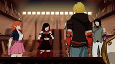 """RWBY: """"WHAT IS THAT?!"""" (Same, Ruby, same) LOL, I thought that this entire scene was hilarious XD"""