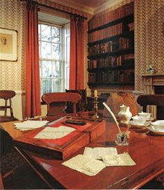 The Study at the Parsonage