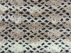 Crochet: Punto Enrejado # 7 - YouTube
