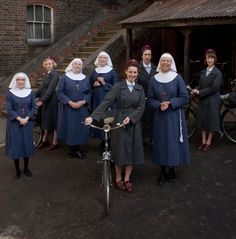 Call The Midwife ~ Set in London in 1957, the same year I was born, in a town north of London.