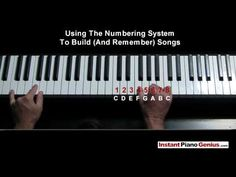 Part 2: Chord secrets for learning beginning piano fast to play hundreds of songs instantly - YouTube