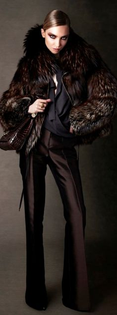 Tom Ford ~ Rich burgundy Brown ourfit for Summers Sheike me Up www.colourimageconsultant.com.au