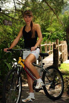 riding bicycles in Langkawi tropics