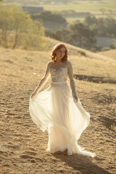 Designer wedding dresses by Louise Anderson New Zealand www.louiseanderson.co.nz/ @louiseandersonb