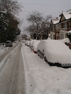 Park Avenue Gillingham In The Snow