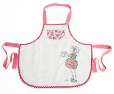 I cannot wait to bake with my daughter while she wears this apron!