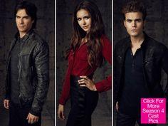 THE VAMPIRE DAIR  SEASON  4 CAST PHOTOS | Vampire Diaries' Season 4 Pics: Elena, Damon, Stefan — Cast ...