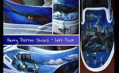 'Harry Potter Shoes - Left Foot' by Kjersti Faret