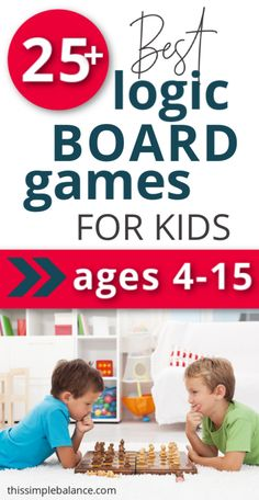 Best Logic Board Games for Kids: play these educational board games with your kids to have fun, connect and teach logic at the same time! Easy Games For Kids, Building Games For Kids, Board Games For Kids, Logic Games For Kids, Thinking Skills, Critical Thinking, Circuit Board Design, Educational Board Games, Bonding Activities