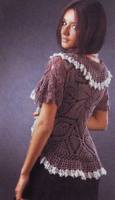 Irish crochet &: CROCHET BOLERO.....БОЛЕРО КРЮЧКОМ