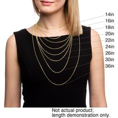 Articles of faith bookmark pinterest necklace chain lengths fremada 14k yellow gold singapore chain necklace 14 30 inch aloadofball Gallery