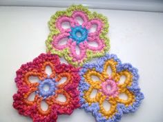 CQ ❀ Free Flower Pattern ❀thanks so for sharing xox