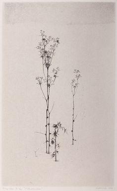 "Gunnar Norrman, Vinterstandare, 1958, lithograph, 11.75 x 7.25"""