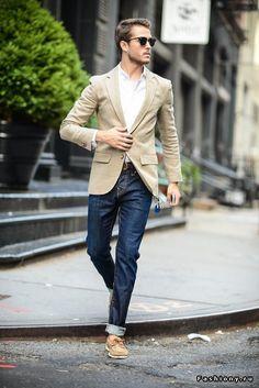 Men's Casual Style. Повседневный, демократичный и универсальный