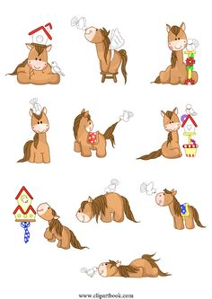 LE - Best Friends Horse & Dove birdfree vector clipart designs for digitizers textile and fashion designers