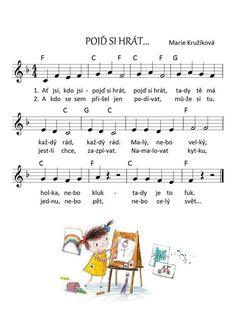 Flute, Piano, Sheet Music, Preschool, Classroom, Teaching, Kids, Christmas 2016, Vintage Christmas