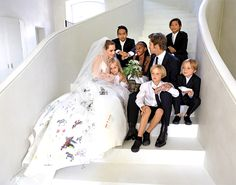 10 At-Home Celebrity Weddings You'll Love via Brit + Co.