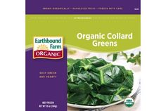 I keep these on hand so when I don't have fresh!  Earthbound Farm Frozen Organic  Greens