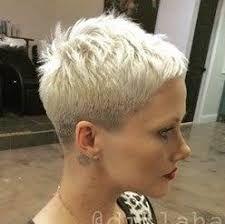 Resultado de imagem para pixie cut sideburns