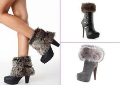 DIY Fur Booties
