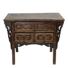 19th Century Asian Hand Carved Dresser on Chairish.com