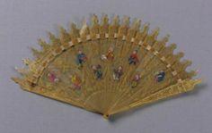 Brisé fan, 1800-30 MFA