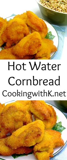 Southern | Cooking with K: Old Fashioned Hot Water Cornbread {Granny's Recipe}