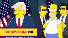 THE SIMPSONS | Trumptastic Voyage | ANIMATION on FOX