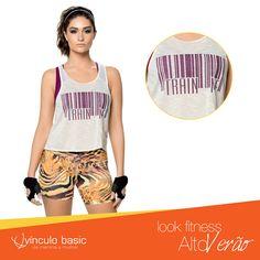 Você merece um look confortável e arejado para se exercitar sem sofrer muito com o aumento das temperaturas. Você merece conhecer a linha Fitness da Vínculo Basic!  #Fitness #AltoVerão