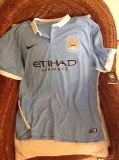 Nike exclusive product Manchester City Blue Soccer jersey NWT Size 3XL Mens