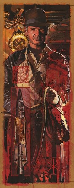 Indiana Jones - Spear of Destiny | art by Mark Raats #indianajones