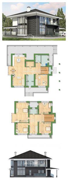 Ev villa projesi 245-002-R | House Expert