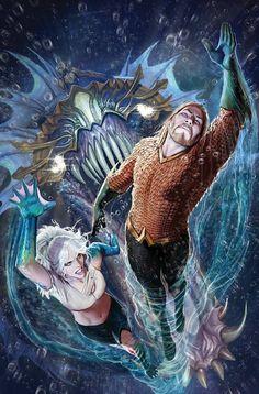 Aquaman by Stjepan Sejic