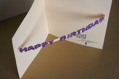 diy birthday card - Lovely Indeed